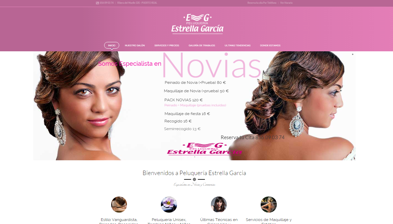 Diseño web peluquerias