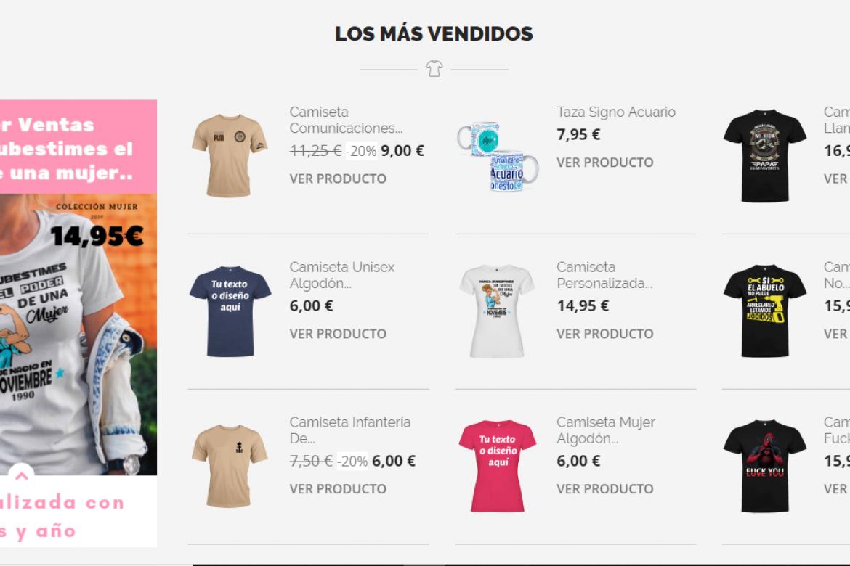 Diseño de Tienda Online, para Rey Lobo