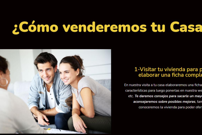 Página Web Inmobiliaria para Plan Inmobiliaria de Utrera